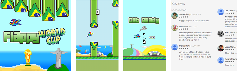 Flappy World Cup